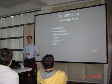 Arvid Winkelsdorf über OOP-basierte HTTP-Server mit INDY